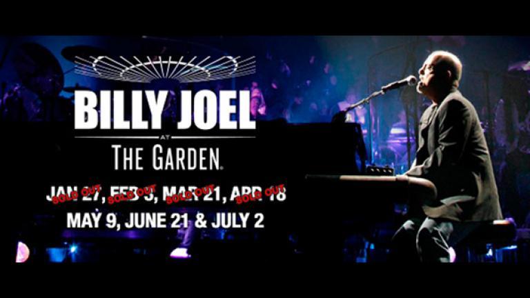 Billy Joel at MSG July 2