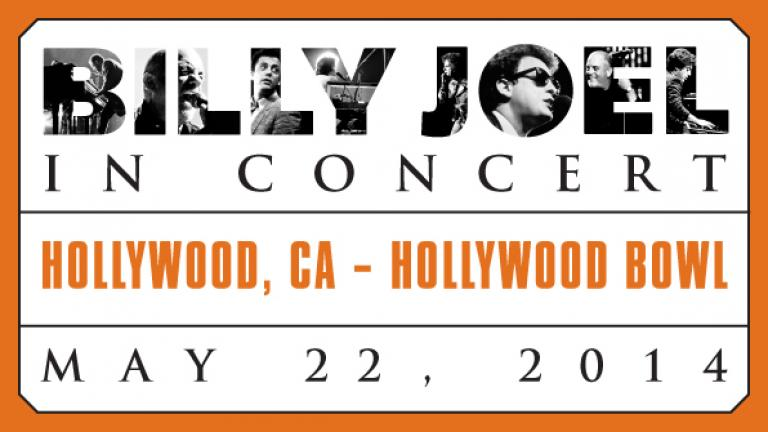 Billy Joel in Hollywood May 22