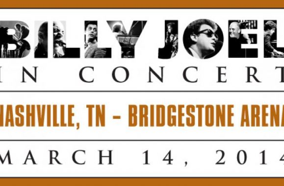 Billy Joel Back At Bridgestone Arena Nashville Friday, March 14