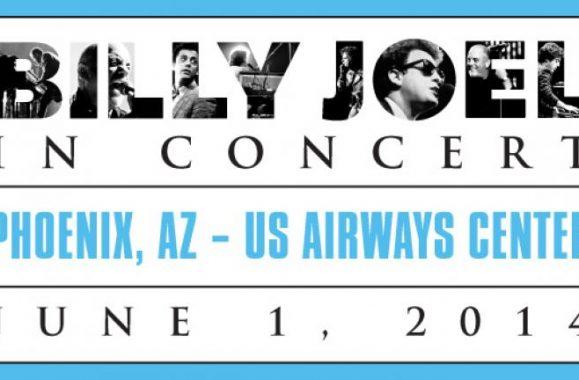 Billy Joel To Perform In Concert At US Airways Center In Phoenix, AZ June 1