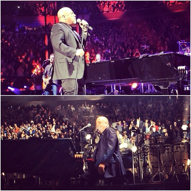 Billy Joel Concert At Madison Square Garden New York NY January