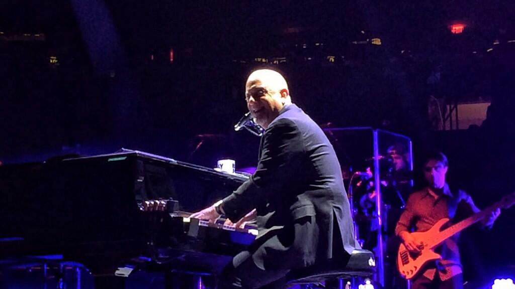 Billy Joel Concert At Madison Square Garden New York NY