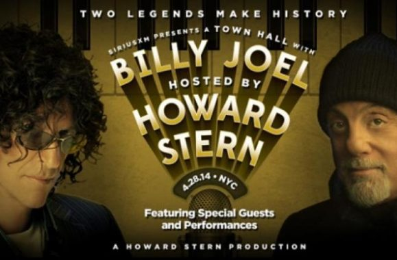 Enter To Win Tickets For Billy Joel SiriusXM Town Hall Event Hosted By Howard Stern