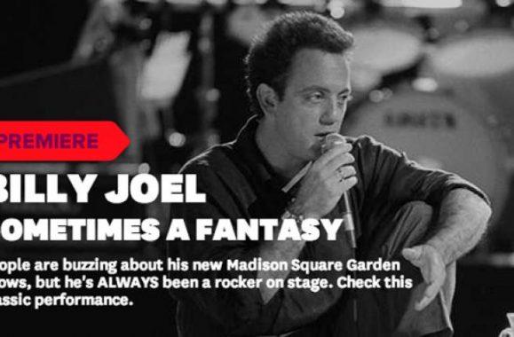 Video Premiere: Billy Joel 'Sometimes A Fantasy' – VEVO
