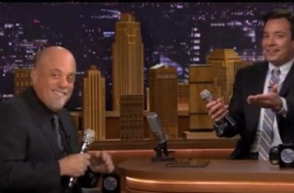 Billy Joel Appearance On 'The Tonight Show Starring Jimmy Fallon' Repeats Tonight!