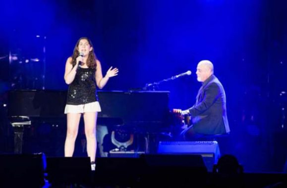 Video: 13-Year-Old Emma Stanganelli Sings 'Boston State Of Mind' With Billy Joel At Fenway Park