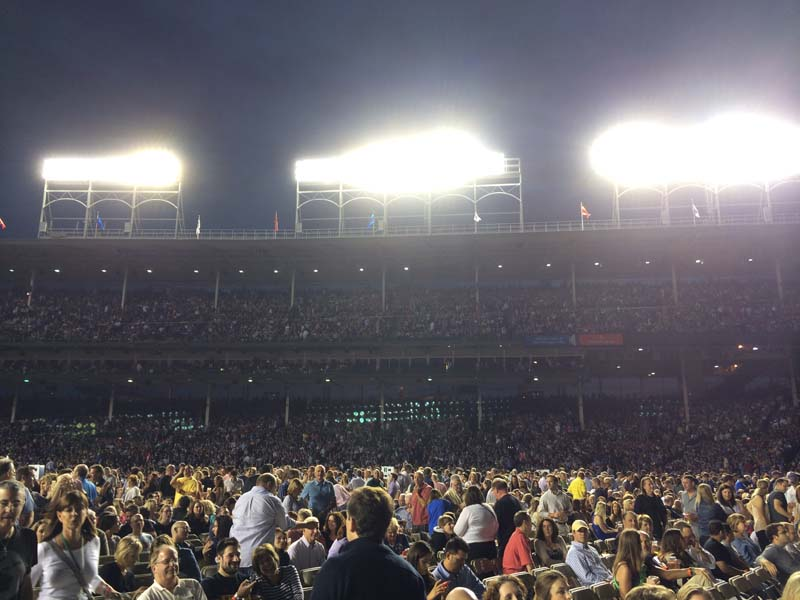 Billy Joel At Wrigley Field – July 18, 2014 (Photo 10)
