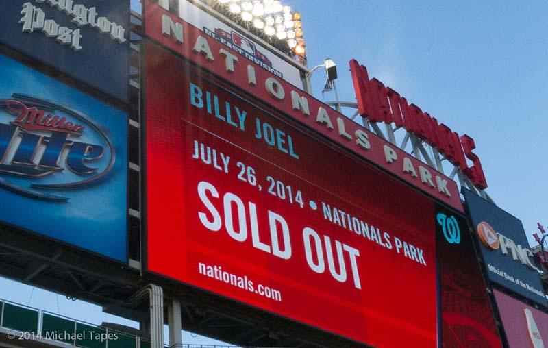Billy Joel at Nationals Park