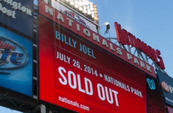 Billy Joel At Nationals Park July 26 – Concert Reviews, Exclusive Photos & Set List