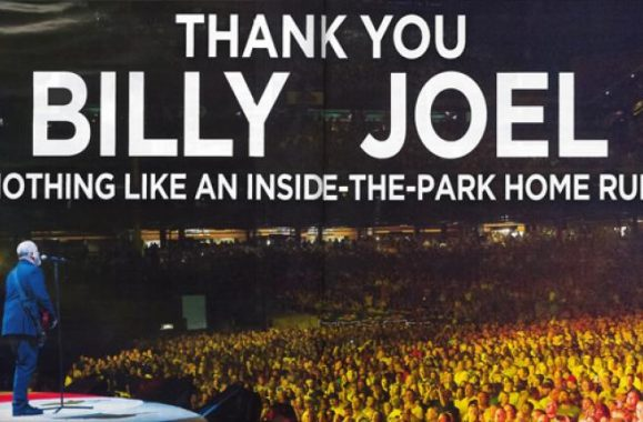 Billy Joel Nationals Park & Citizens Bank Park Ads In Billboard Magazine