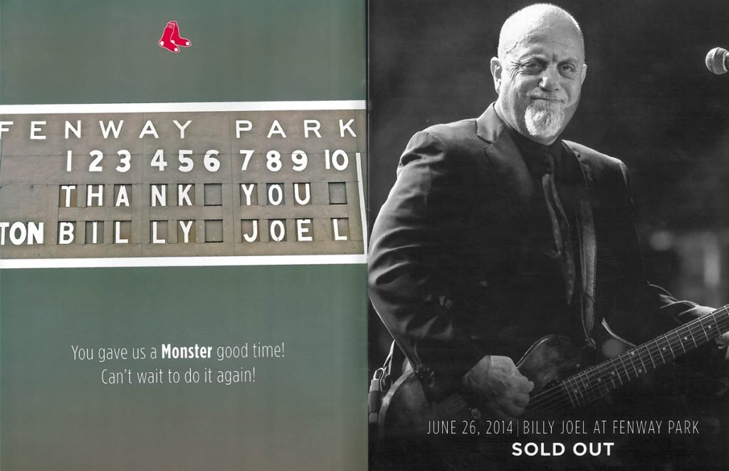 Billy Joel Gave Us A Monster Good Time – Fenway Park – photo