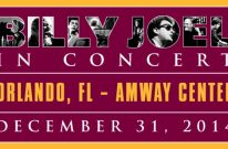 Billy Joel Concert At Amway Center Orlando, FL – December 31, 2014