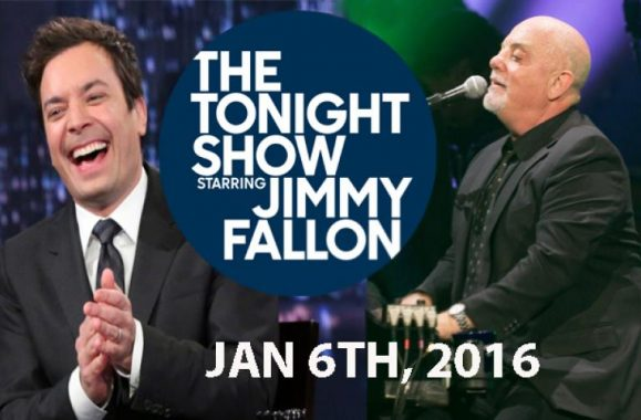 Billy Joel To Appear January 6th On 'The Tonight Show Starring Jimmy Fallon'