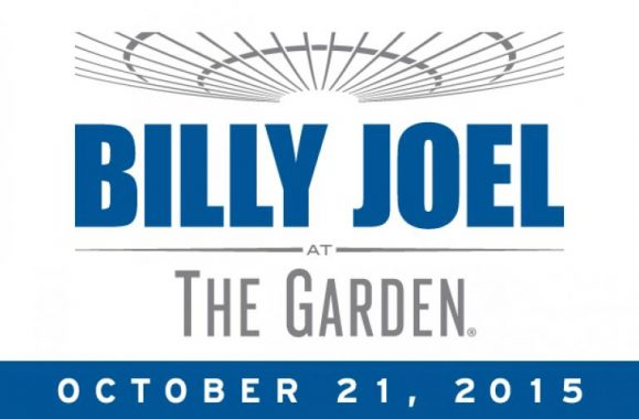 Billy Joel Announces 22nd Concert At Madison Square Garden October 21, 2015