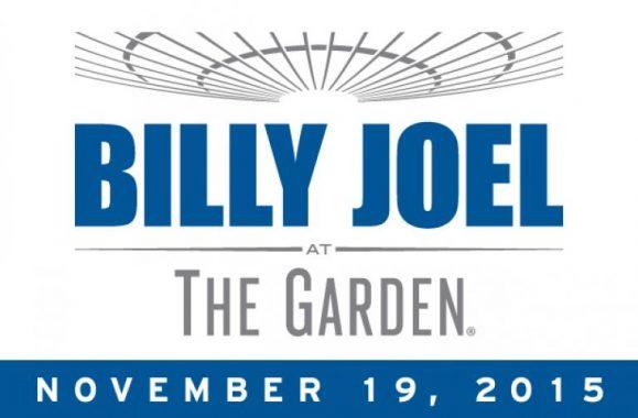 Billy Joel Announces 23rd Concert At Madison Square Garden November 19, 2015