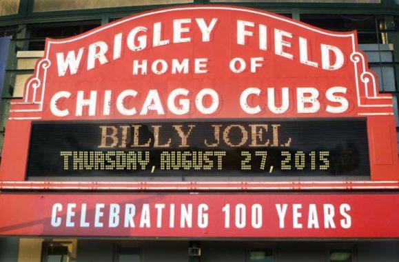 Billy Joel Returns To Wrigley Field August 27, 2015