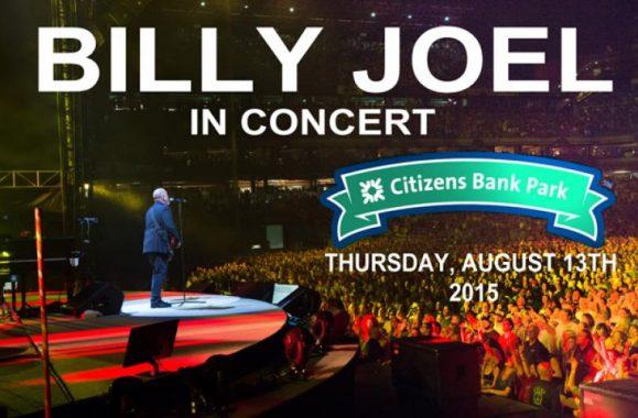 Billy Joel Returns To Citizens Bank Park In Philadelphia August 13th