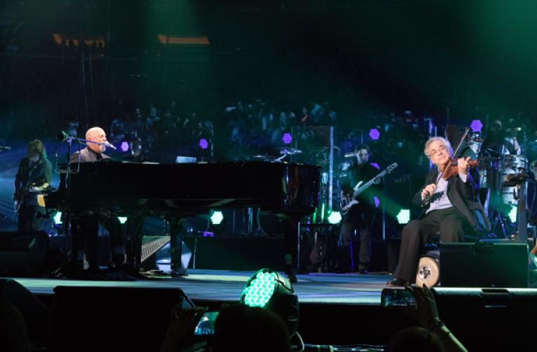 Billy Joel At Madison Square Garden March 9 Exclusive Video