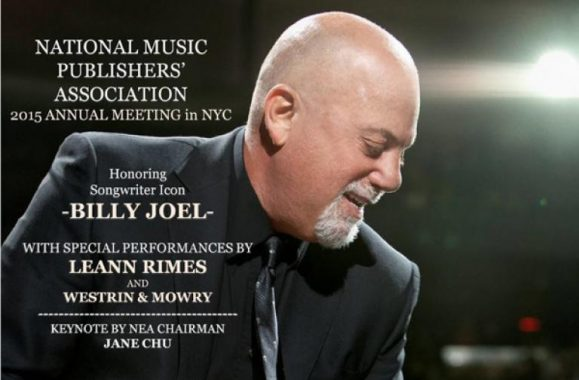 Exclusive Photos: Billy Joel Honored By National Music Publishers' Association