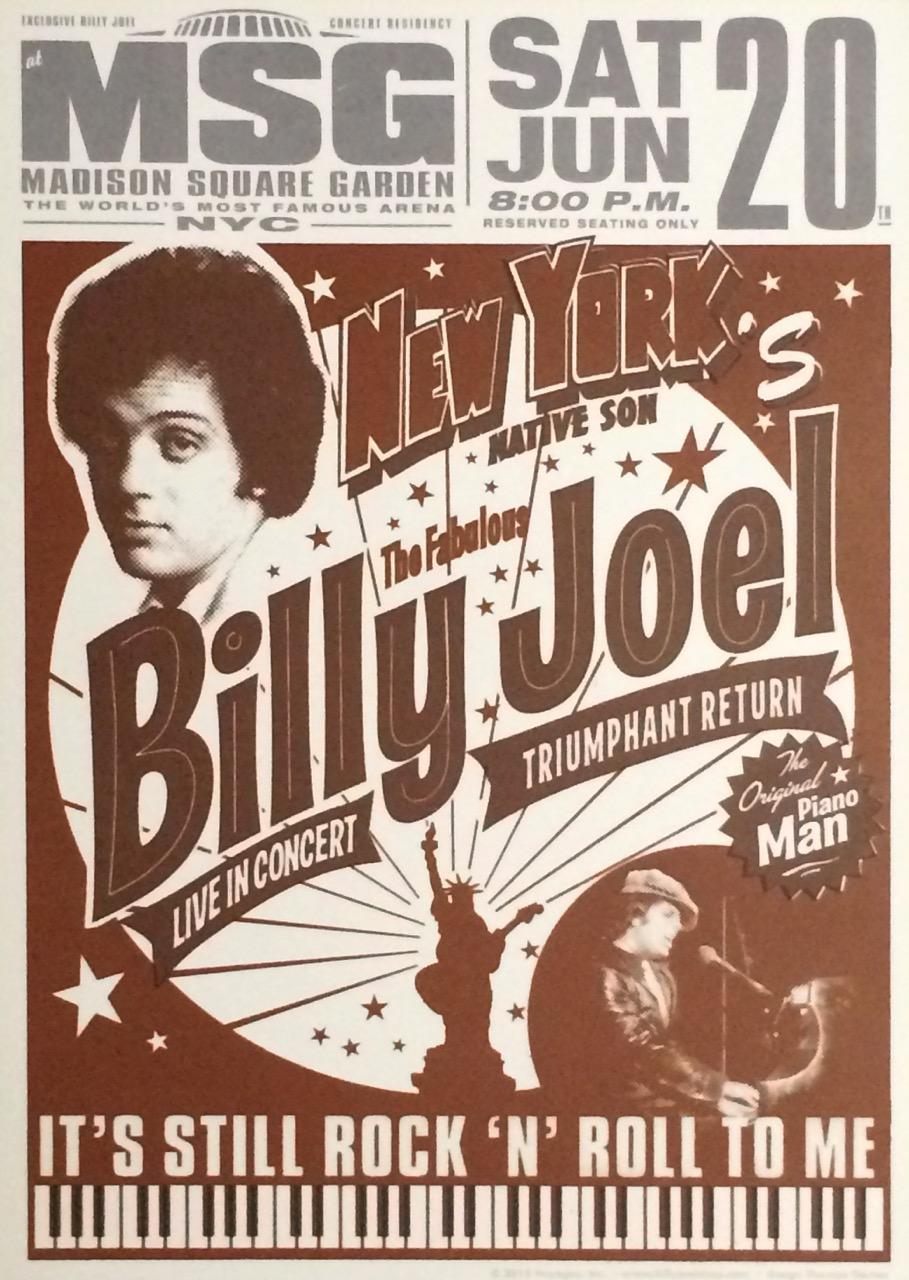 Billy Joel At Madison Square Garden New York Ny June 20 2015 Photo 75 Billy Joel