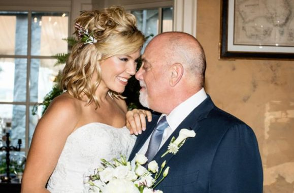 Billy Joel And Alexis Roderick Wedding Photo