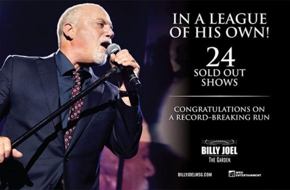 Billy Joel In A League Of His Own – New Ad In Billboard