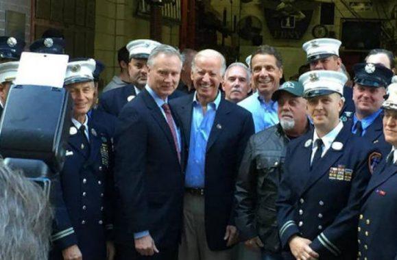 Vice President Biden, Gov. Cuomo & Billy Joel Visit 9/11 First Responders