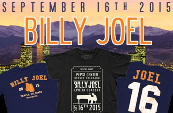 New Billy Joel Merch Available Now!