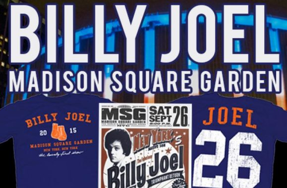 New Billy Joel Concert Merch Available Now!