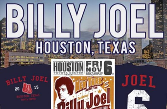 Fans In Houston: New Billy Joel Merch Available Now!