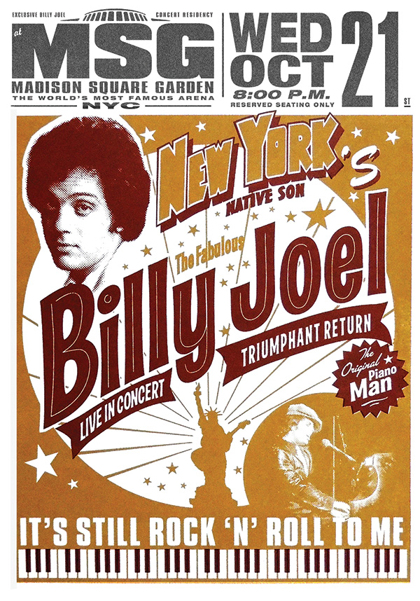 Billy Joel At Madison Square Garden New York Ny October 21 2015 Photo 57 Billy Joel