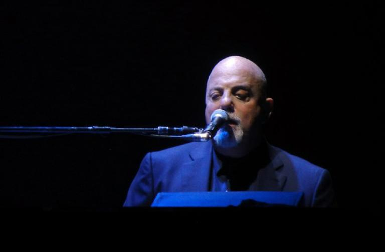 Billy Joel on piano