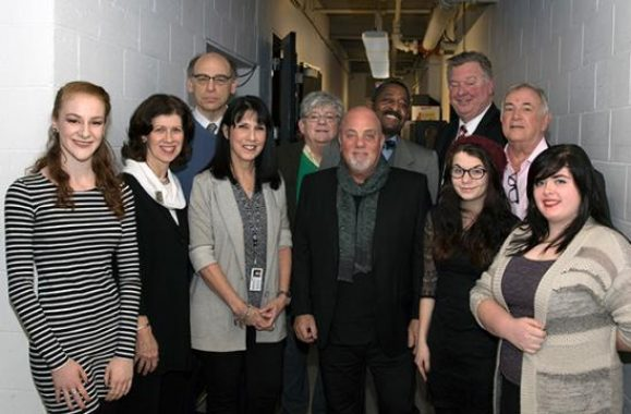 Billy Joel Advocates For Long Island High School For The Arts – Videos & Photos