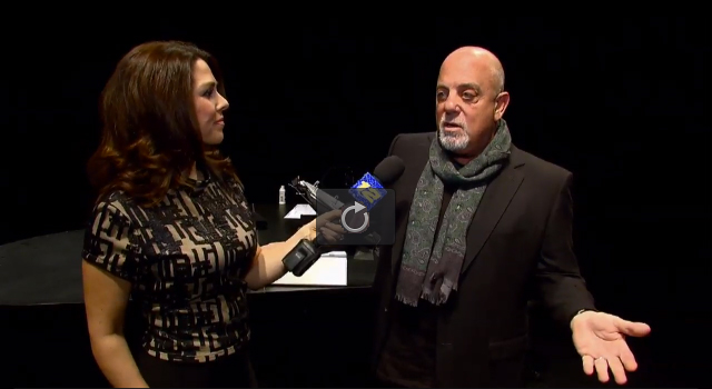 Billy Joel at LIU Post News 12 video