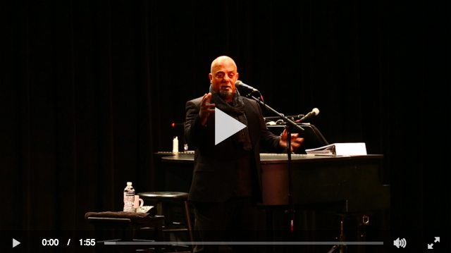 Billy Joel at LIU Post Newsday video