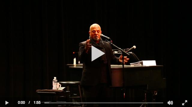 Billy Joel at LIU Post Newsday video
