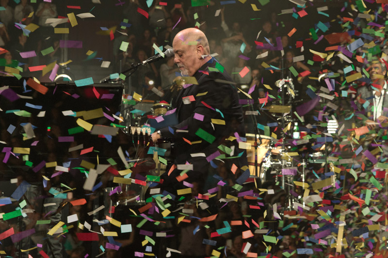 Billy Joel performs live in concert at BB&T Center in Sunrise, FL, on New Year's Eve January 1, 2016