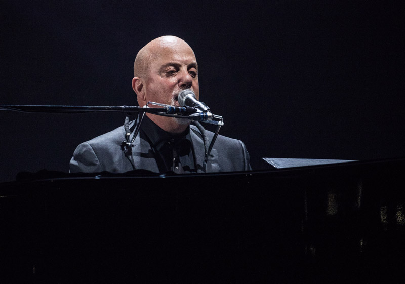Billy Joel performs at Madison Square Garden New York, NY on February 13, 2016