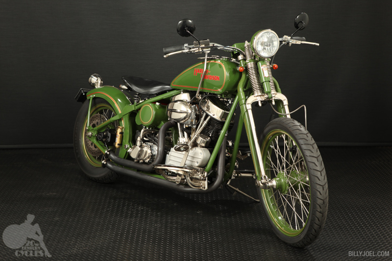 Harley-Davidson Panhead 2009 (Front)