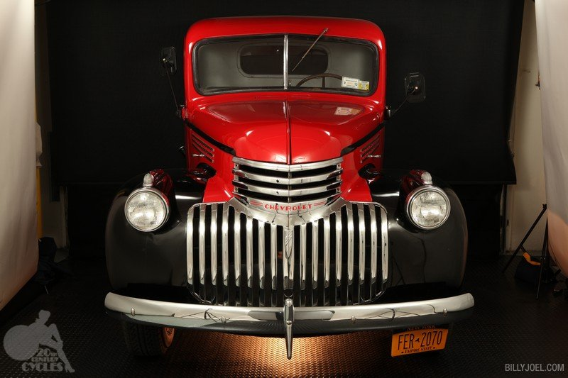 Chevrolet 3/4 ton Pickup Truck 1941 (Front)