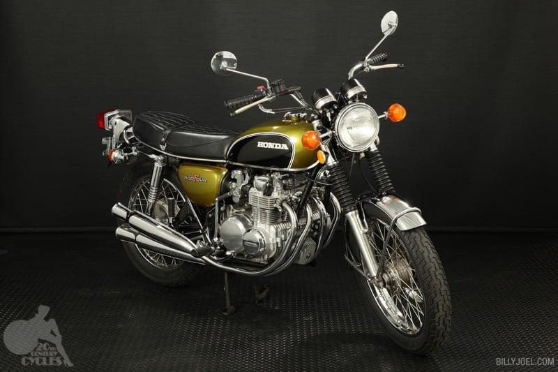 Honda CB500 1972 (Front)