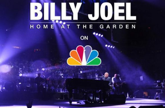 Billy Joel: Home at the Garden on NBC  Channel 4