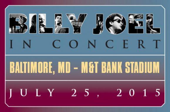 Billy Joel In Concert M&T Bank Stadium In Baltimore July 25, 2015