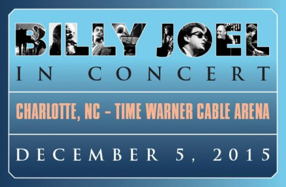 Billy Joel In Concert Charlotte, NC, December 5, 2015