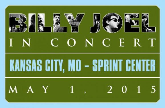Billy Joel In Concert May 1, 2015 At Sprint Center In Kansas City