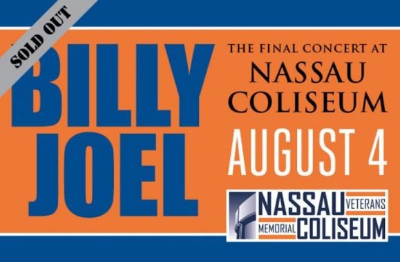 Nassau Coliseum's Final Show – Billy Joel August 4