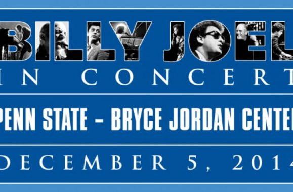 Billy Joel Back At The Bryce Jordan Center At Penn State Friday, December 5
