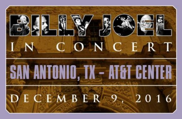 Billy Joel To Play San Antonio AT&T Center December 9