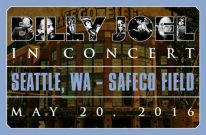 Billy Joel Concert At Safeco Field Seattle, WA – May 20, 2016