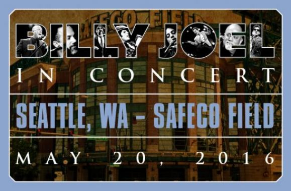 Billy Joel At Safeco Field Friday, May 20, 2016